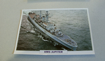 1967 HMS Jupiter Frigate  warship framed picture
